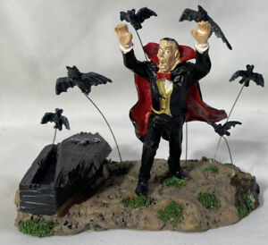 Lemax-Spooky-Town-Table-Accent-VAMPIRE-amp-BATS-Halloween-Accessory-NO-BOX