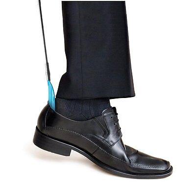 Telescopic ShoeHorn Extendable Wardrobe Essential Shoe Horn Cushion Grip Handle