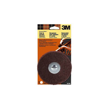 x 1//4 in Dia Aluminum Oxide  Paint and Varnish Remover Scotch-Brite  5 in