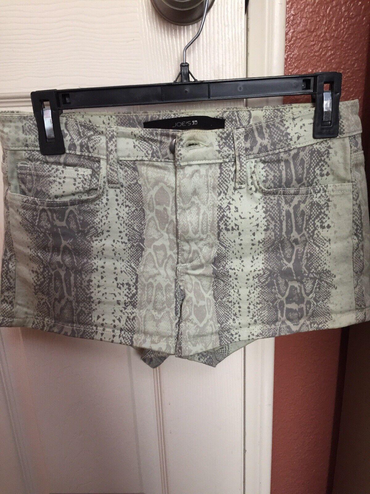 Joe's Womens Light Green Jean Shorts Size 26