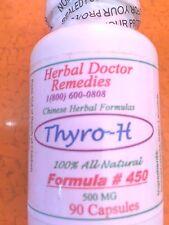 Herb Doc Thyro-H 90 Caps Hyper Thyroid TSH ,T3, T4 ,Tremor Insomnia,Bulging eyes