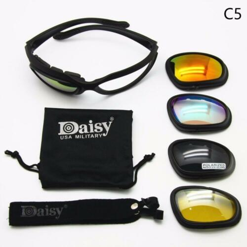 Daisy C5 Military Tactical Goggles Motorcycle Riding Glasses' Sunglasses EyeweTS