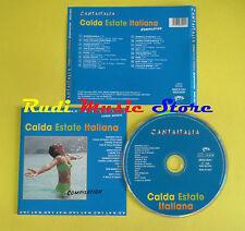 CD CALDA ESTATE ITALIANA compilation 2000 PETTENATI FOCACCIA SOLO (C5) no mc lp