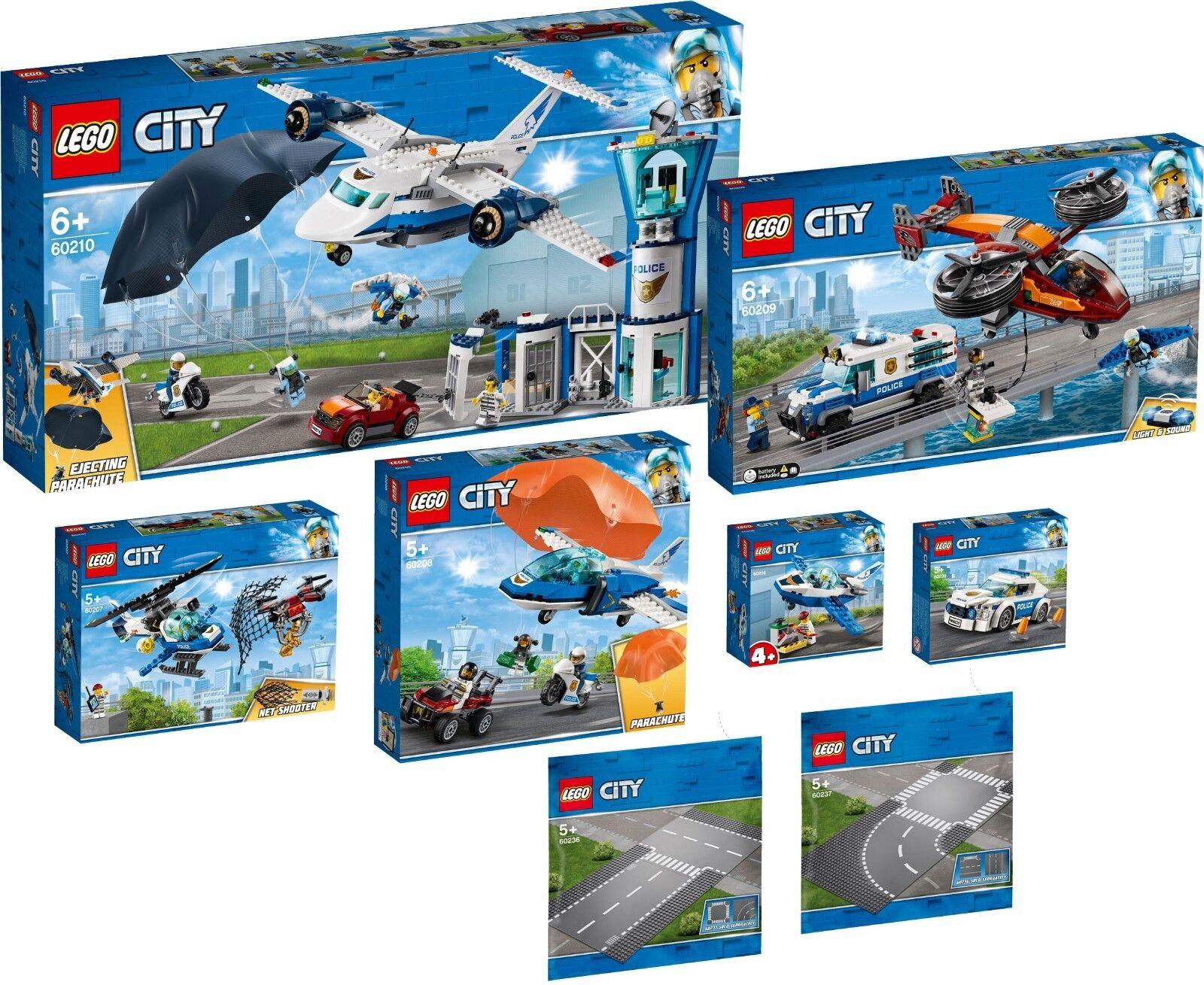 LEGO CITY POLIZIA 60210 60209 60208 60207 60206 60239 60236 60237 n1 prevendita