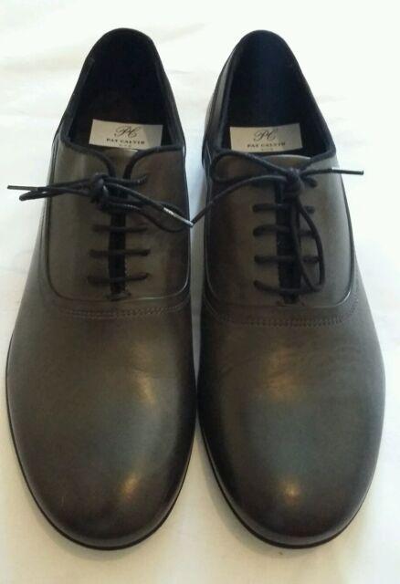 Pat Calvin N.Y.C dunkelgrau Schnüren Schuh Größe UK 7 EU 41 34669e1714