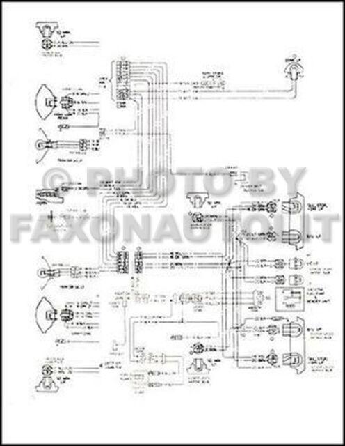 1975 Chevy El Camino Gmc Sprint Wiring Diagram Chevrolet