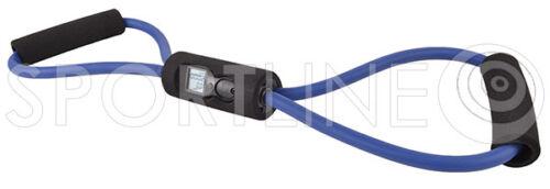Fitnessband Tube Expander mit Schaumgriffen Body Pro Gummiseil Widerstandsband