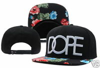 NEW DOPE Floral Hip Hop Adjustable Snapback Style Baseball Hat/cap