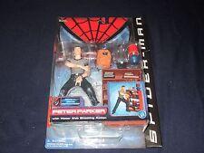 SPIDER-MAN MOVIE PETER PARKER TOY BIZ ACTION FIGURE 2002