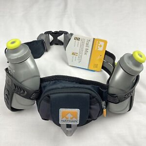 Nathan-Trail-Mix-Hydration-Running-Hydration-Belt-Color-GREY-Adjustable-Unisex