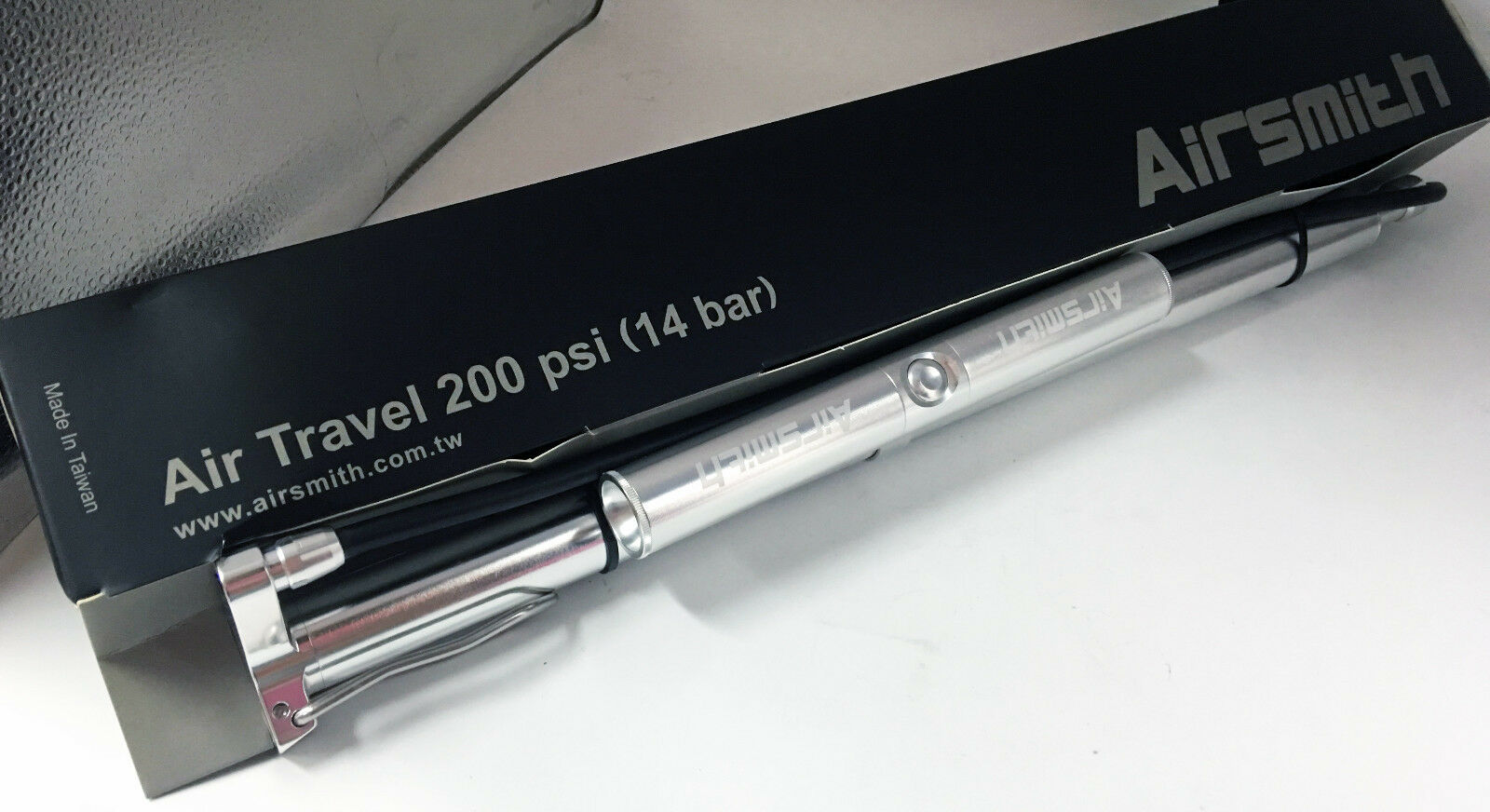 Airsmith Air Travel Metal Calibre 200psi Plata