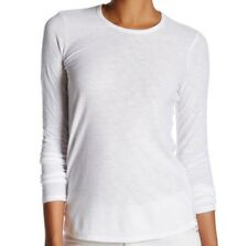4b1e890890f item 5 $95 NWT JAMES PERSE WOMEN Sz2(M) CREW NECK LONG SLEEVE JERSEY TEE IN  WHITE -$95 NWT JAMES PERSE WOMEN Sz2(M) CREW NECK LONG SLEEVE JERSEY TEE IN  ...