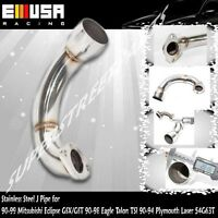 Ss J Pipe For 90-99 Mitsubishi Eclipse Gsx Gst/90-98 Eagle Talon Tsi 4g63t 2.0l
