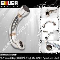Ss J Pipe For 90-99 Mitsubishi Eclipse Gsx Gst/90-98 Eagle Talon Tsi 4g63t 2.0l