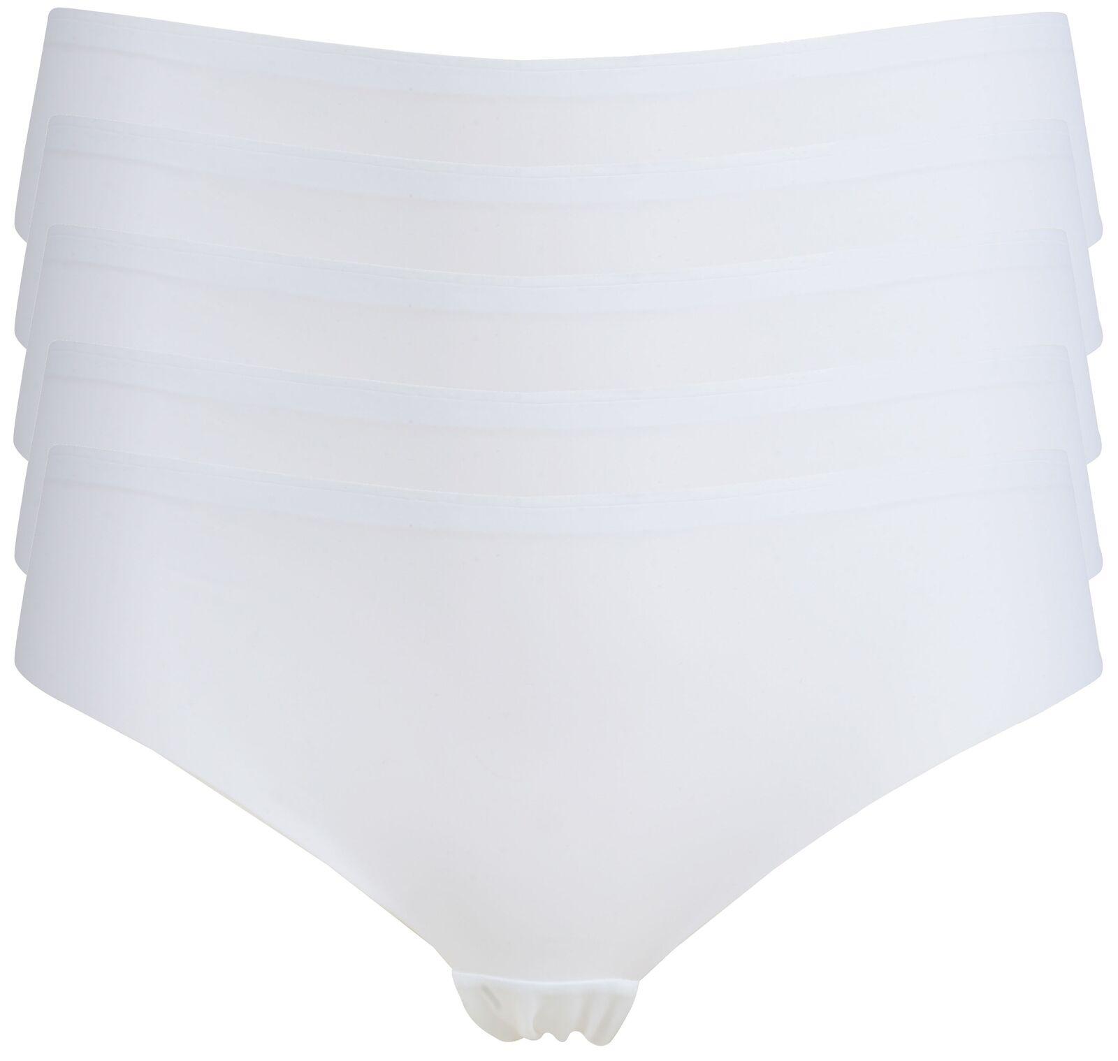 Ex Store Multipack No VPL Bonded Lace Back Brazilian Knickers