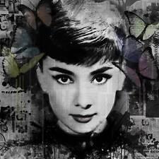 Veebee FANTASMI: Audrey Hepburn Stampa Firmata Limited Edition