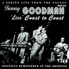 """Live"" Coast To Coast by Benny Goodman (CD, May-2012, Mr. Music)"