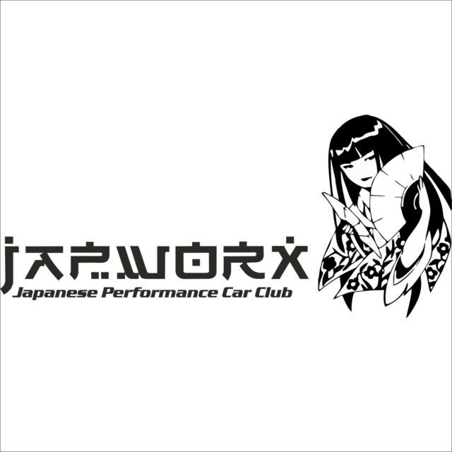 125cm x 56cm JAPWORX LARGE GEISHA GIRL CAR SIDE STICKER jdm manga decal anime