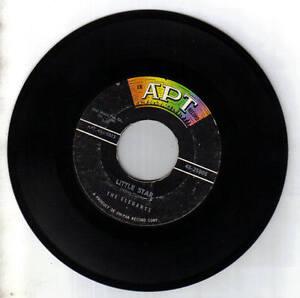 The-Elegants-45-RPM-APT-Records-1958-25005-Little-Star-Getting-Dizzy