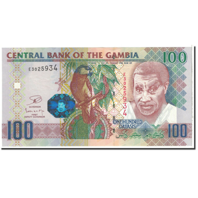 [#120141] The Gambia, 100 Dalasis, 2006, KM:29a, UNC(65-70)
