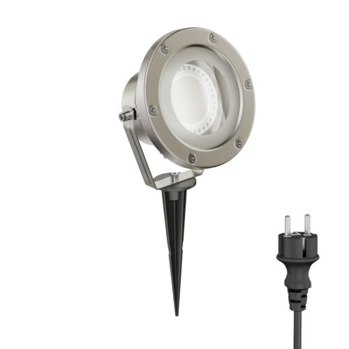Step dimmbar 5W 220V LED Warmweiss SMD LED Bodenstrahler Rostfrei IP68