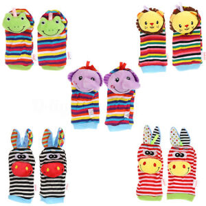 Rattle-Set-Baby-Sensory-Toys-Foot-finder-Socks-Wrist-Rattles-Bracelet-2020NEW