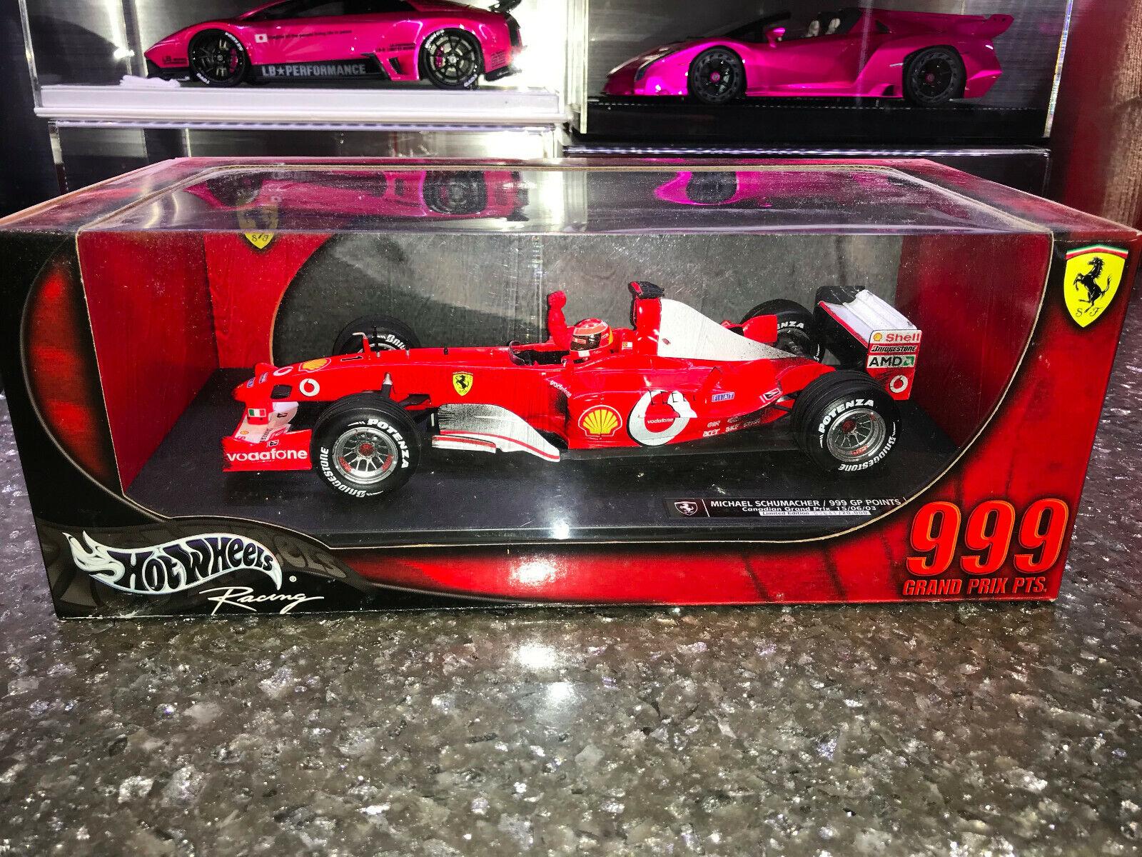 Envio gratis en todas las ordenes 1 18 Mattel 2003 Ferrari Ferrari Ferrari F2003GA Edición M. Schumacher 999 GP PTS  mas preferencial