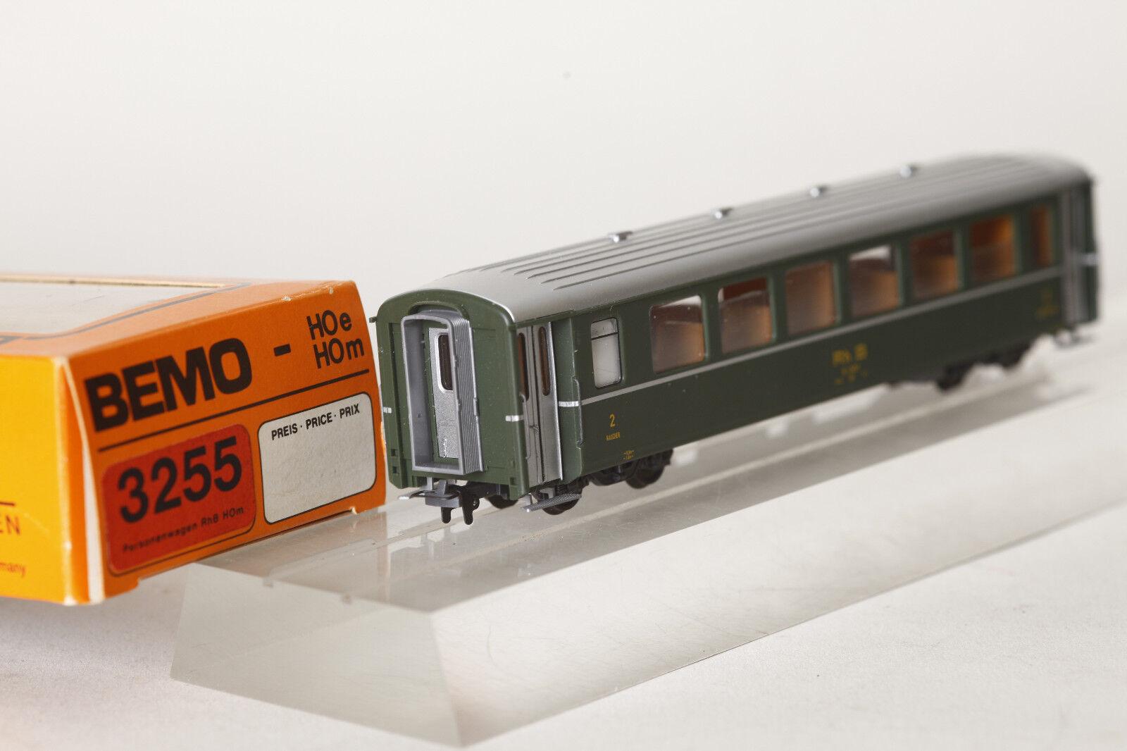 Bemo H0m 3255 111 Carroza Rh B Ferrovia Retica B 2451 2.kl. Verde  72134