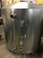 400 Gallon Walker Jacketed Tank Stainless Steel