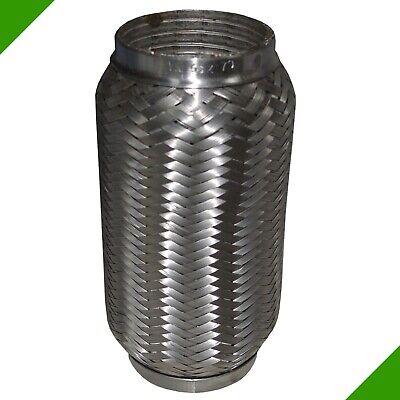64x280 mm Ø 64*280 Edelstahl Flexrohr flexibles Auspuffrohr Rohr Flexstück