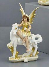 Publilancio srl Principessa Resina Grande con Unicorno 11x7.2x15.2 cm BOMBONIERA