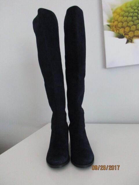 fb8400dd9203 STUART WEITZMAN Tiemodel Suede Over -the -Knee Boots Black size 10M ...