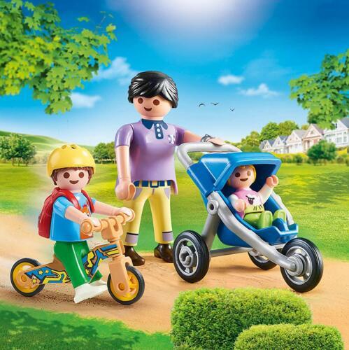 ovp PLAYMOBIL® KiTa /'Regenbogen/' 70284 Mama mit Kindern neu
