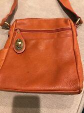 Avorio Leather Crossbody Handbag