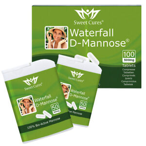 Waterfall-D-Mannose-Tablets-100-x-0-5g-Easy-Swallow-Tablets-Bladder-Support