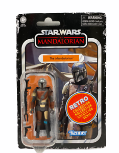 """NEW! Kenner Star Wars Retro Collection THE MANDALORIAN  3.75"""" Figure F2019"""