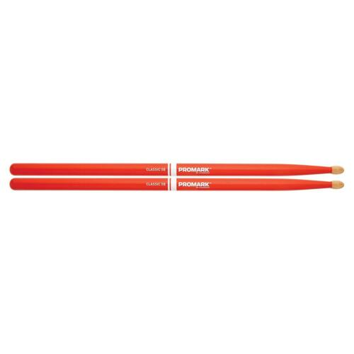 Promark TX5BW-ORANGE Classic 5B Wood Drum Sticks