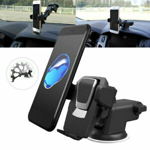 360-Mount-Holder-Car-Windshield-Stand-For-Mobile-GPS-Phone-Samsung-Cell-iP-K3F6