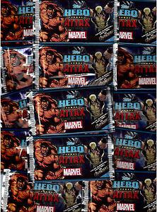 Hero Attax 2 Topps / Trading Cards / 10 Tüten / Marvel / Neu OVP
