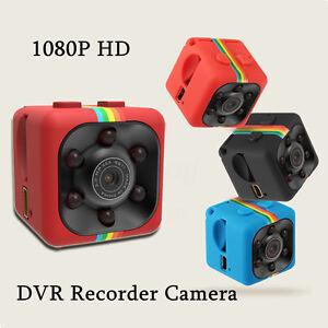 Full HD 1080P SQ11 Mini Car Hidden DV DVR Camera Spy Dash Cam IR Night Vision UK