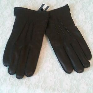 Men-039-s-LEATHER-Gloves-by-Saddlebred-NWT-Size-L