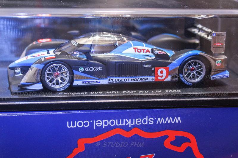 PEUGEOT 908 HDI N°9 TEAM PEUGEOT SPORT Winner 24H du MANS 2009  Spark 1 43
