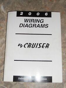 2006 chrysler pt cruiser wiring diagrams service manual used ebay