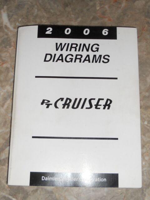 2006 Chrysler Pt Cruiser Wiring Diagrams Service Manual