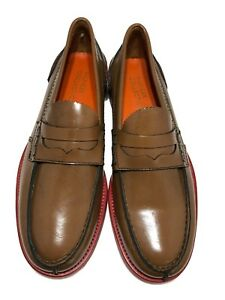NEW-TOMMY-HILFIGER-COLLECTION-MEN-039-S-TAN-LOAFERS-43-10-645