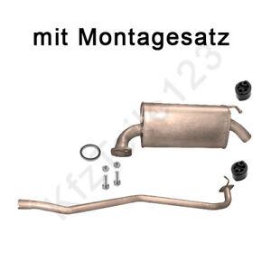 Mazda 6 1.8 2.0 16V CiTD Rohr Mitte Rohr Auspuff Auspuffanlage Auspuffrohr neu