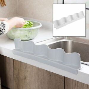 Details about Plastic Water Splash Baffle Board Guard Wash Basin Sucker  Sink Kitchen Tool QP