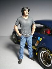 AKIRA  NAKAI  SAN  1/18  PAINTED  FIGURE  MADE  BY  VROOM  FOR  GT  SPIRIT