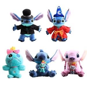 Lilo-amp-Stitch-Plush-Toys-Angel-Scrump-Stuffed-Animal-Doll-Cuddly-Kids-Xmas-Gift