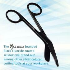 New German 1 Lister Bandage Nurse Scissors 55 Black Fluoride Coated Color